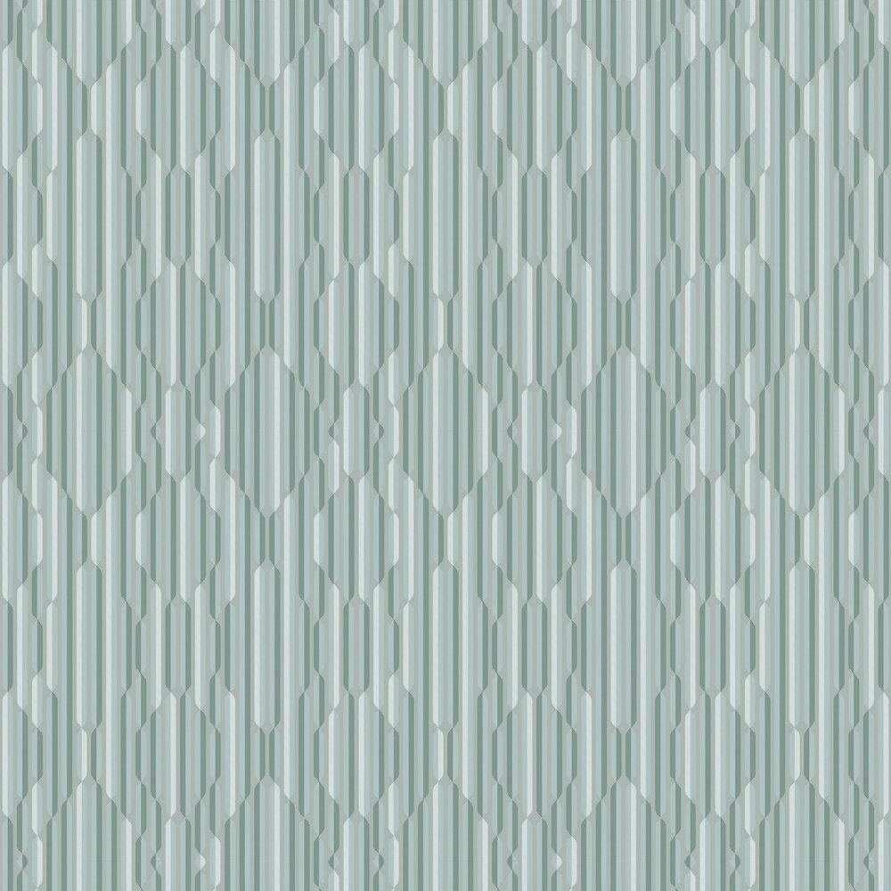 Optical Wallpaper - Green - by Tres Tintas