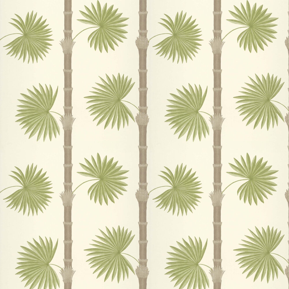 Hardy Palm Wallpaper - Sand III - by Paint & Paper Library