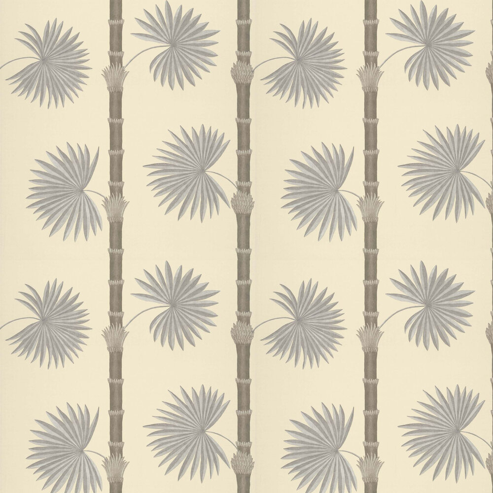 Hardy Palm Wallpaper - Canvas III - by Paint & Paper Library