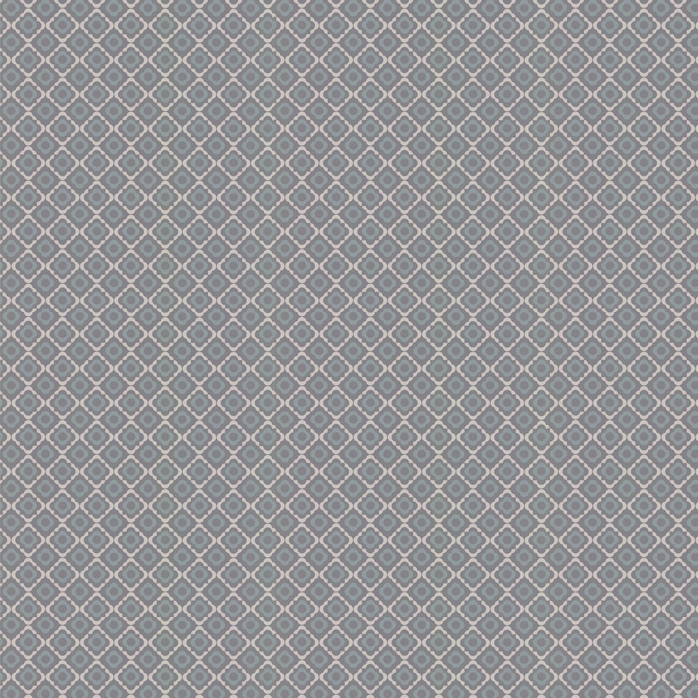 Paint & Paper Library Quatrefoil Tallanstown Grey Wallpaper - Product code: 0360QUTALLA