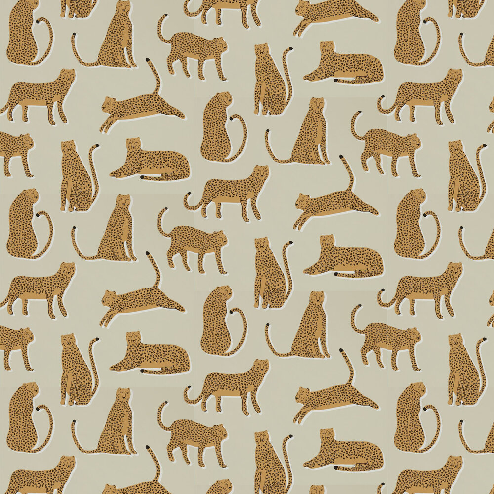 Scion Lionel Ginger Wallpaper - Product code: 112207