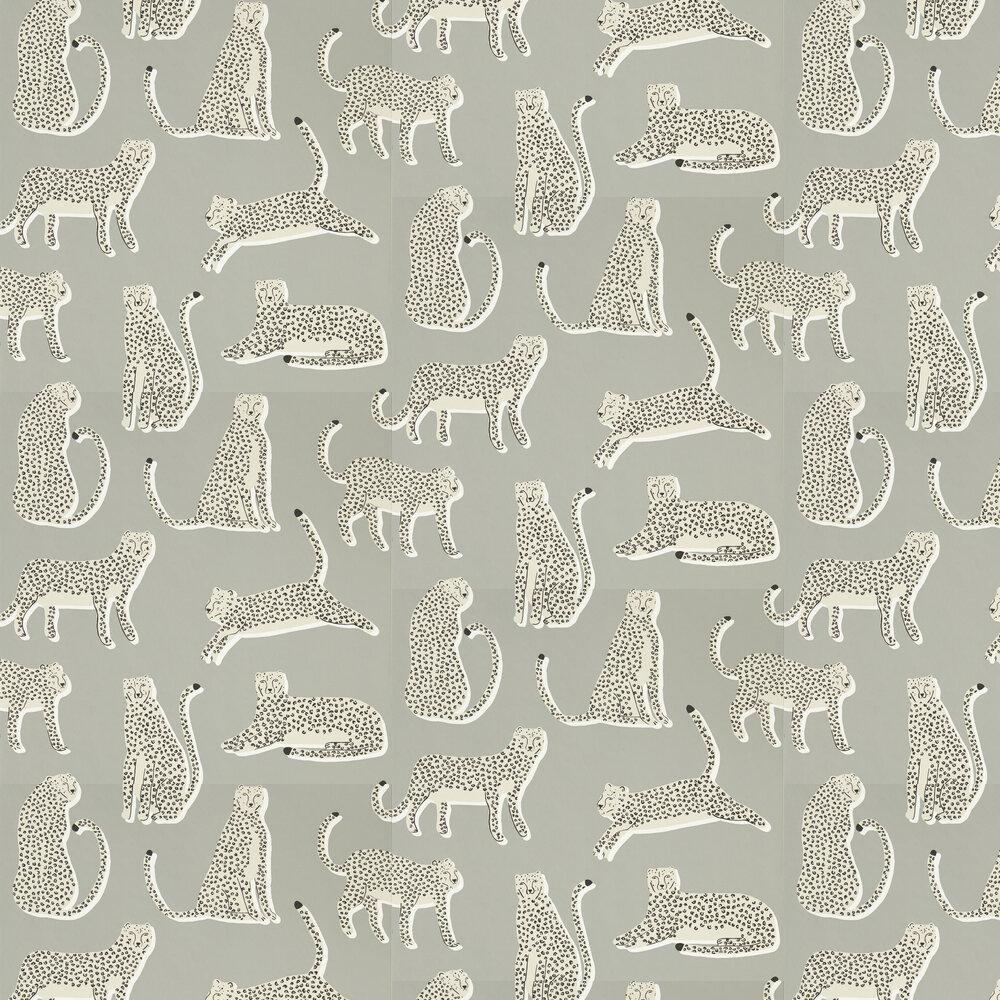 Lionel Wallpaper - Pebble - by Scion