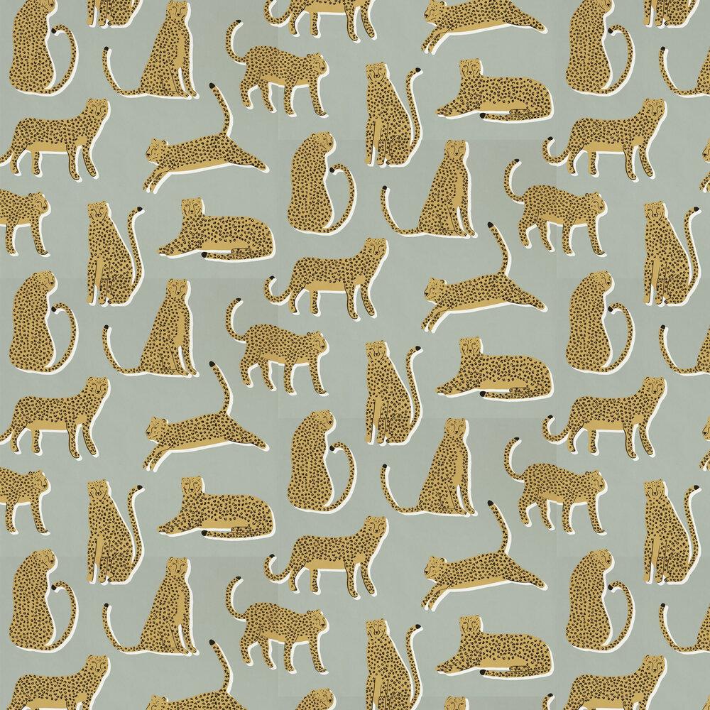 Lionel Wallpaper - Stone - by Scion