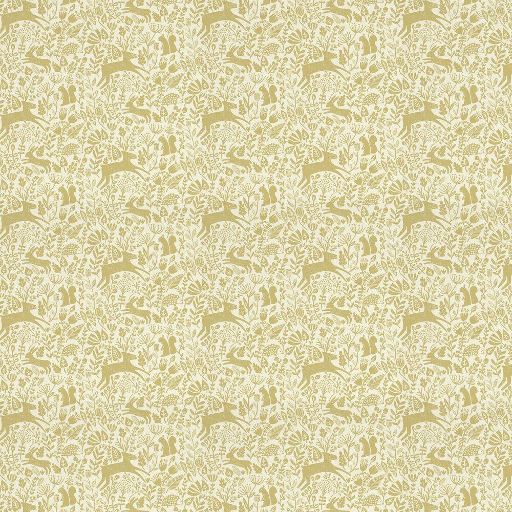 Kelda Wallpaper - Grasshopper - by Scion