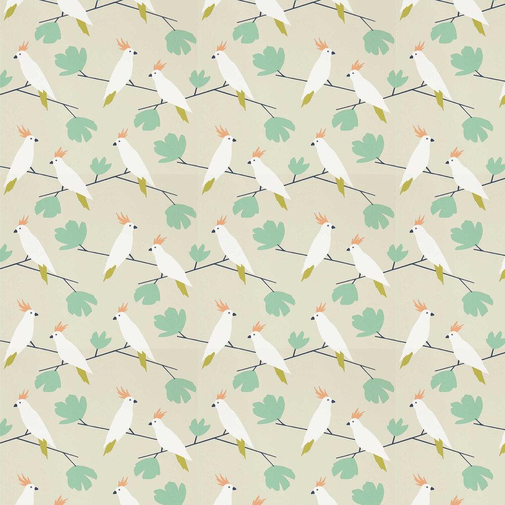Scion Love Birds Flamenco Wallpaper - Product code: 112219