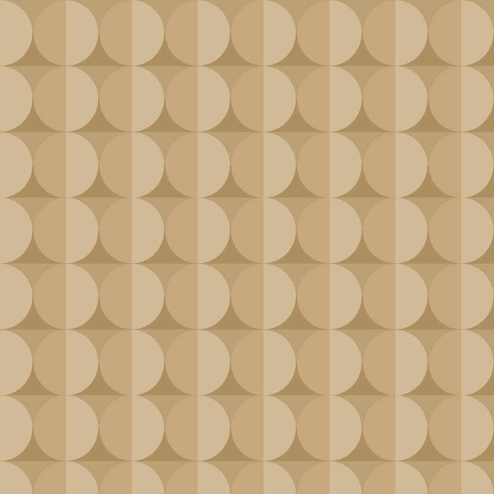 Moon Wallpaper - Yellow - by Engblad & Co