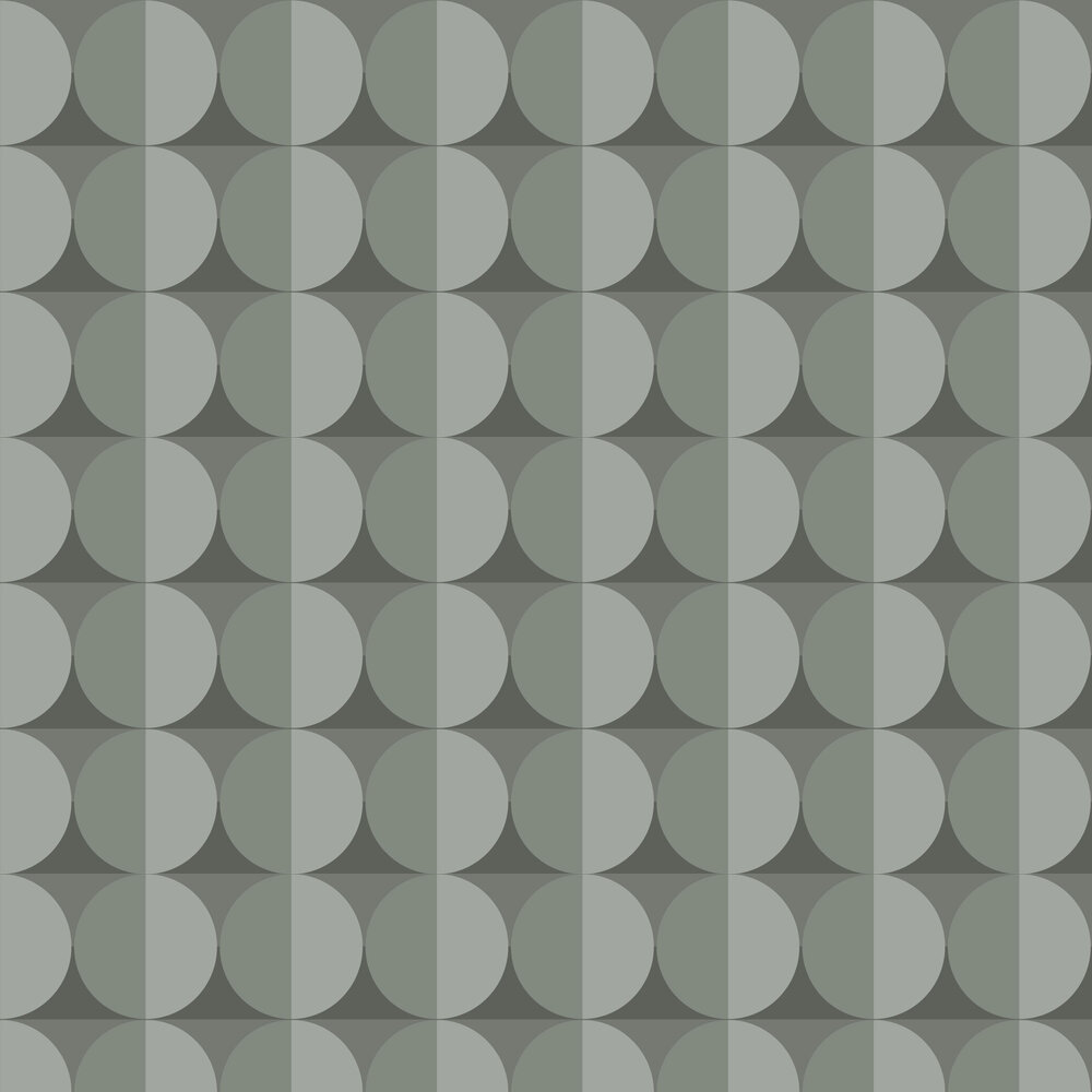 Moon Wallpaper - Green - by Engblad & Co