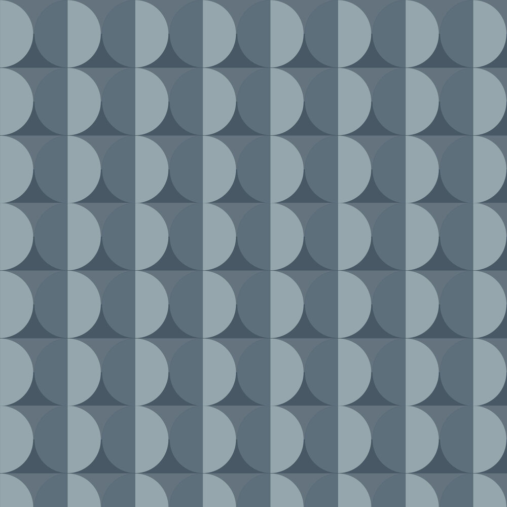 Engblad & Co Moon Blue Wallpaper - Product code: 8953