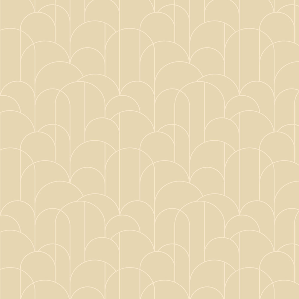 Arch Wallpaper - Yellow - by Engblad & Co