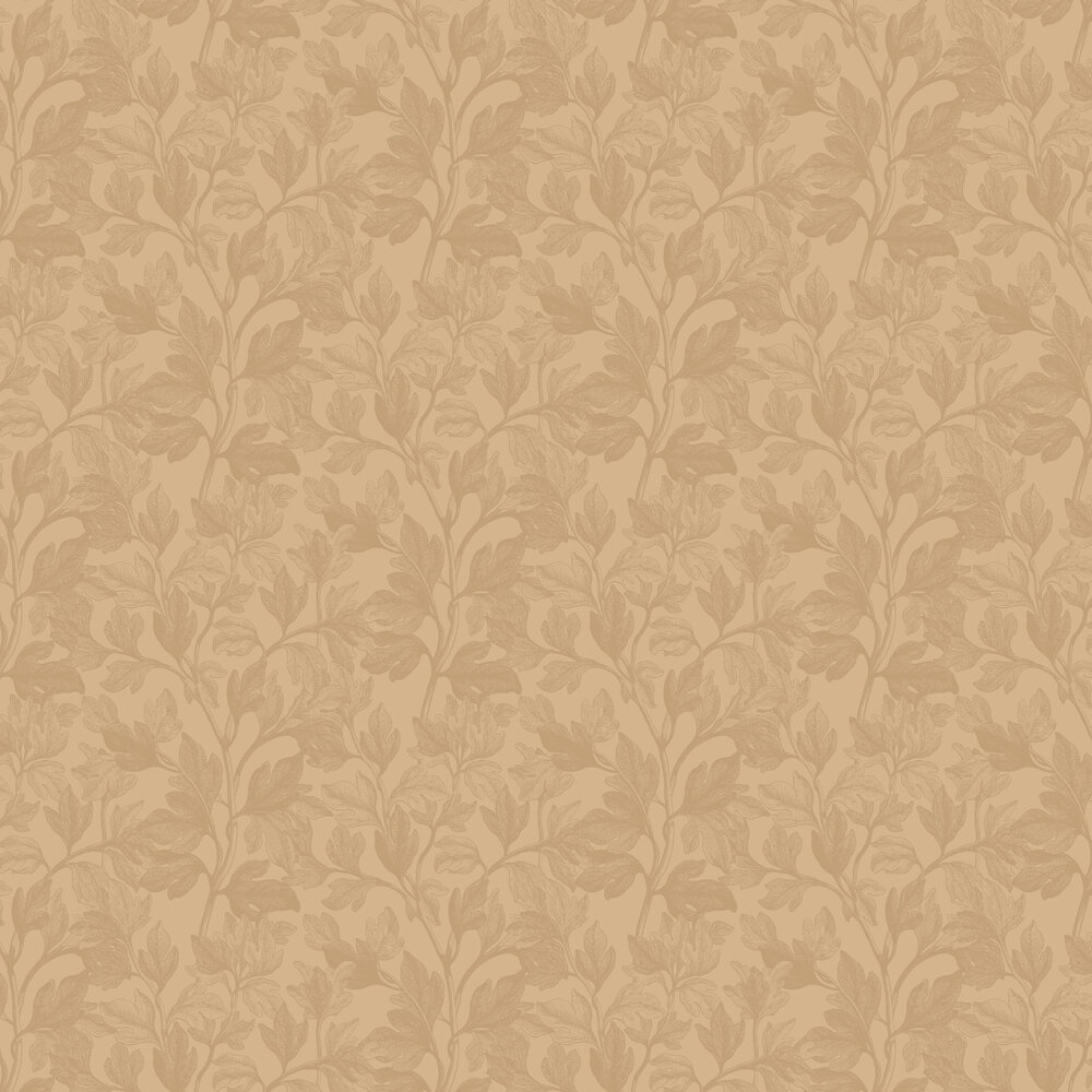 Fig Wallpaper - Yellow - by Engblad & Co