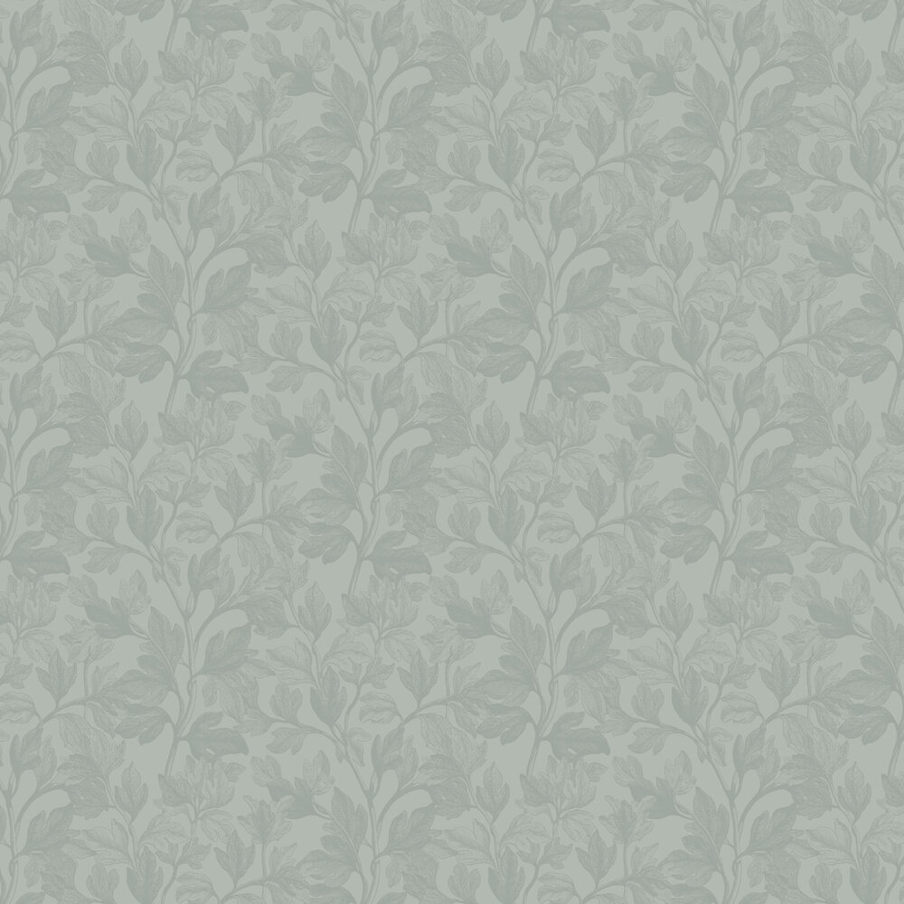 Fig Wallpaper - Green - by Engblad & Co
