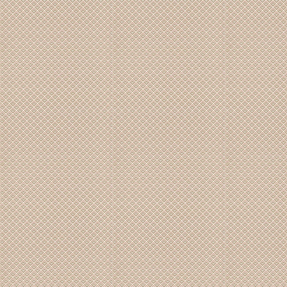 Gio Wallpaper - Coral - by 1838 Wallcoverings