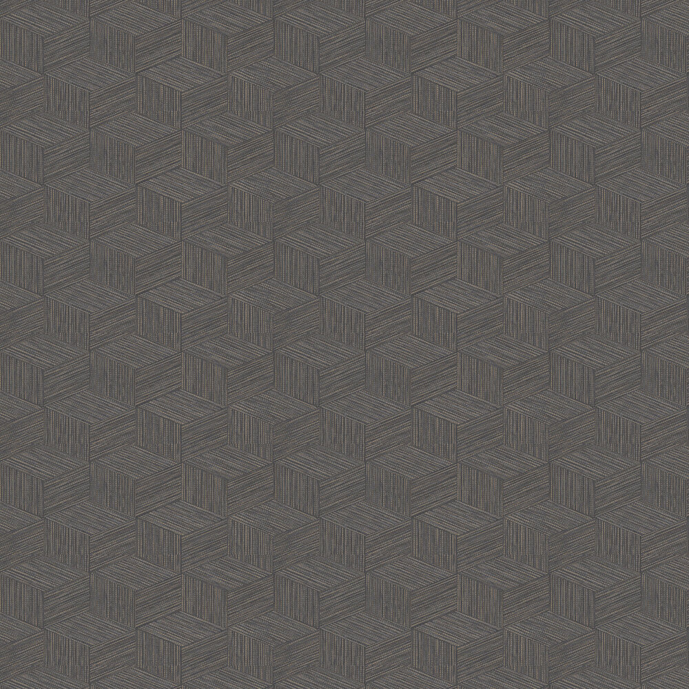 Bakau Wallpaper - Charcoal - by Albany
