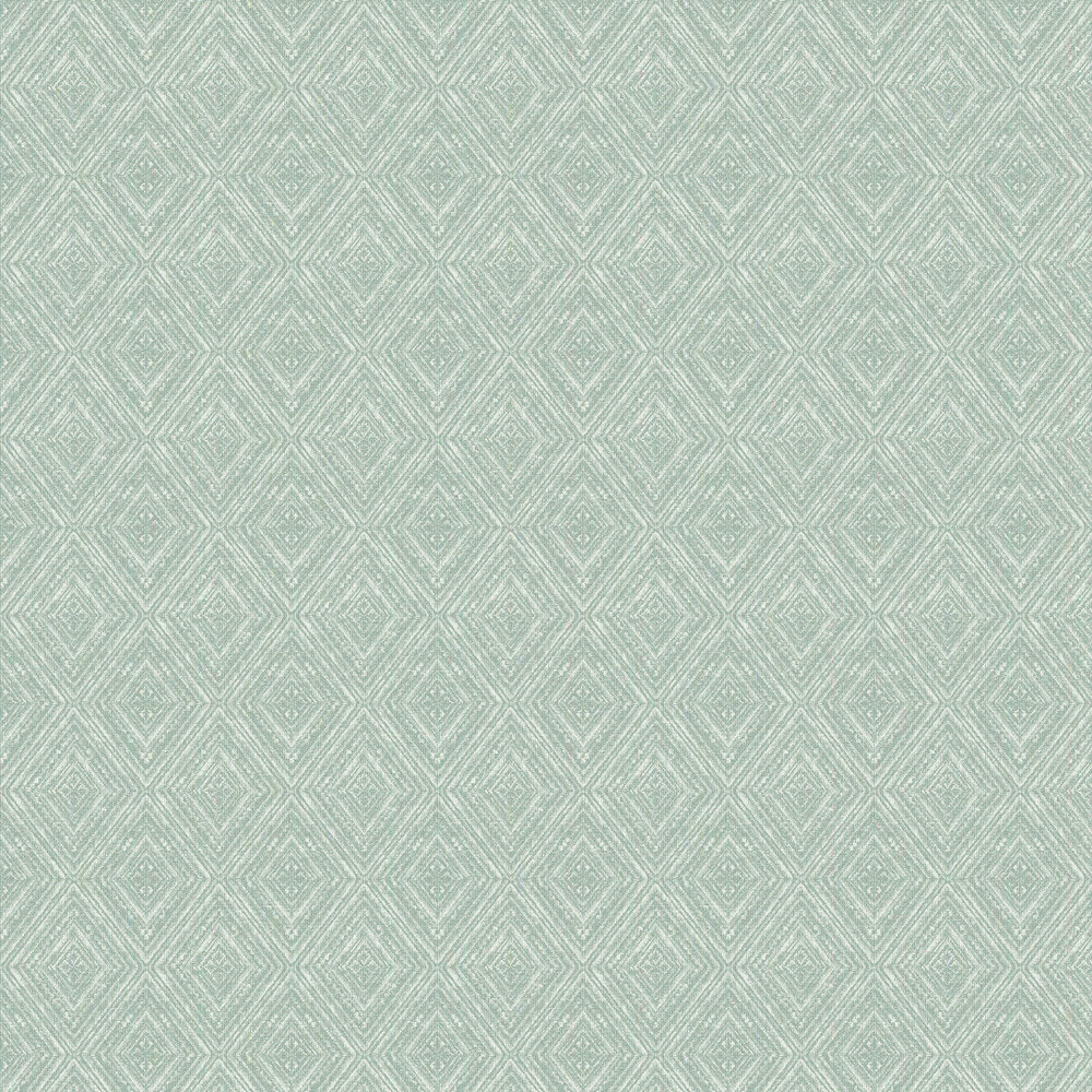 Imani  Wallpaper - Soft Teal - by Albany