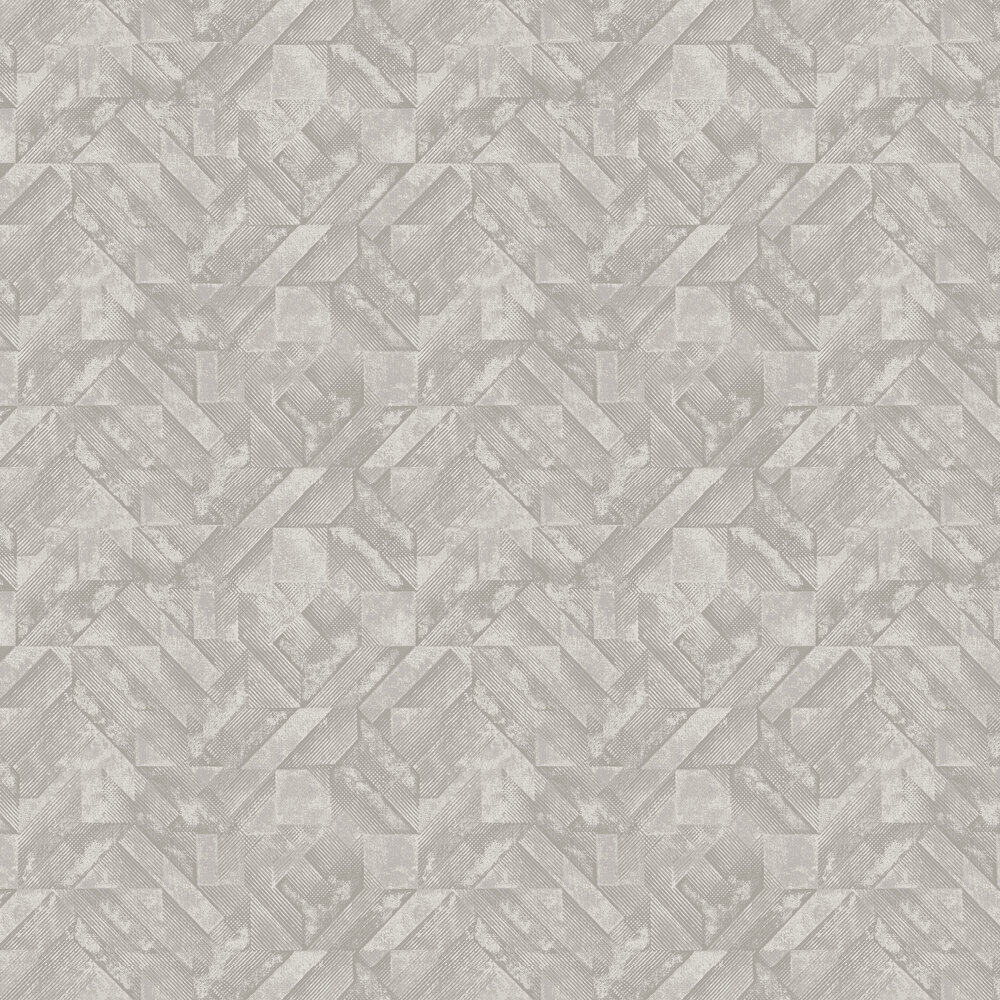 Huxley Wallpaper - Grey - by Albany