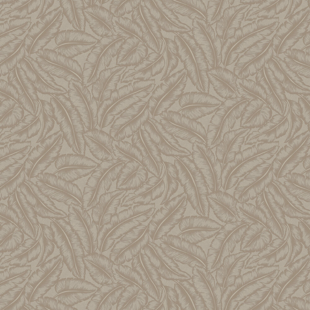 Elgin  Wallpaper - Taupe - by Albany
