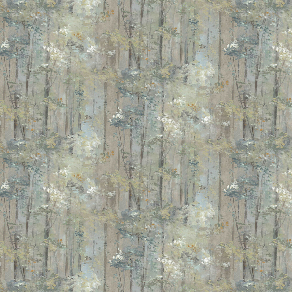 Glade Wallpaper - Moss - by 1838 Wallcoverings