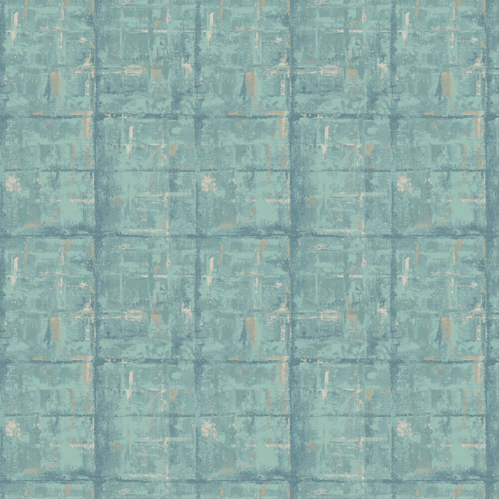 1838 Wallcoverings Patina Seafoam Wallpaper - Product code: 1804-120-03