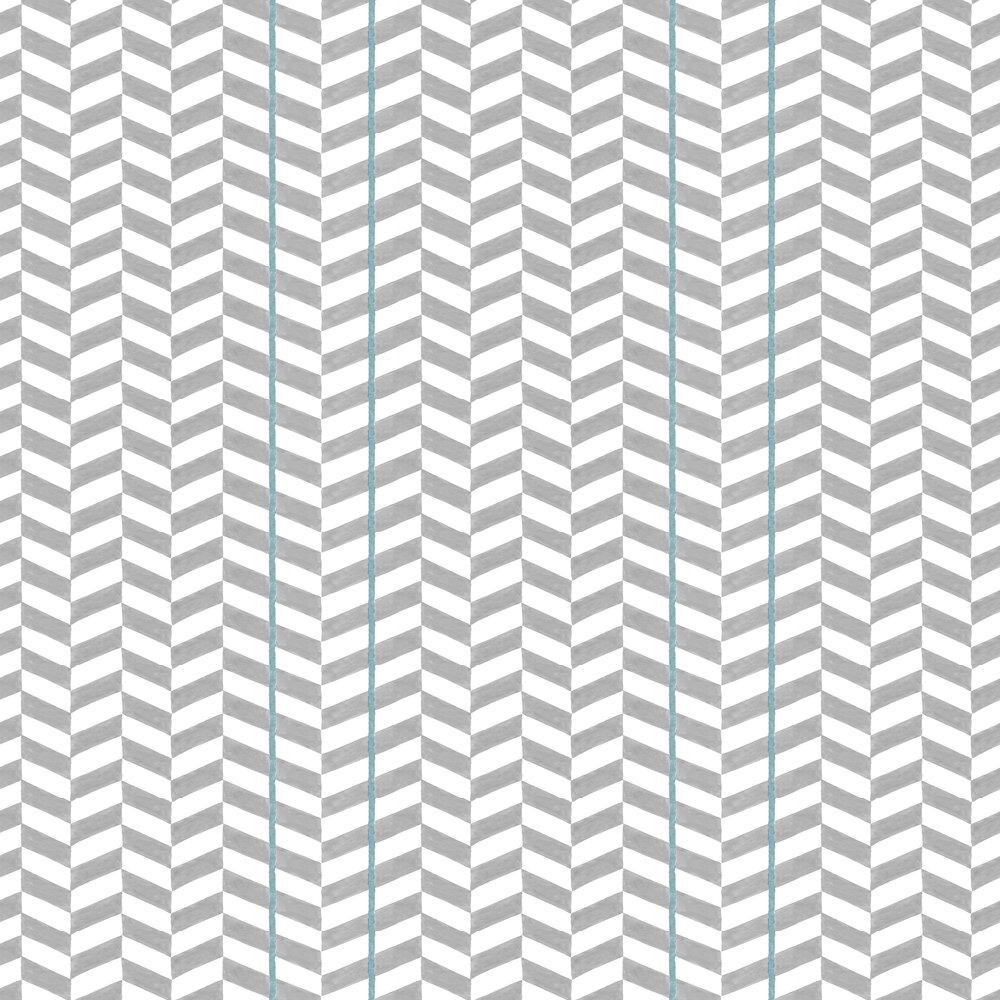 Espiga Wallpaper - Silver - by Coordonne