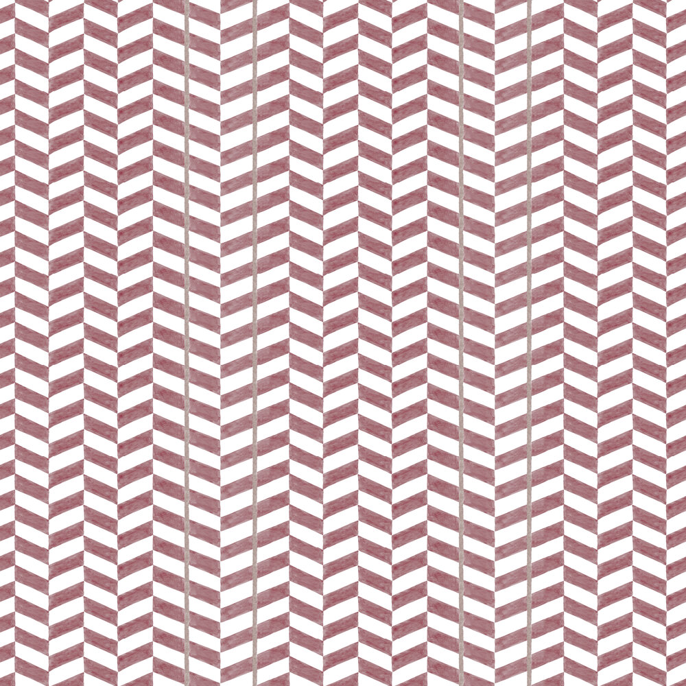 Espiga Wallpaper - Plum - by Coordonne