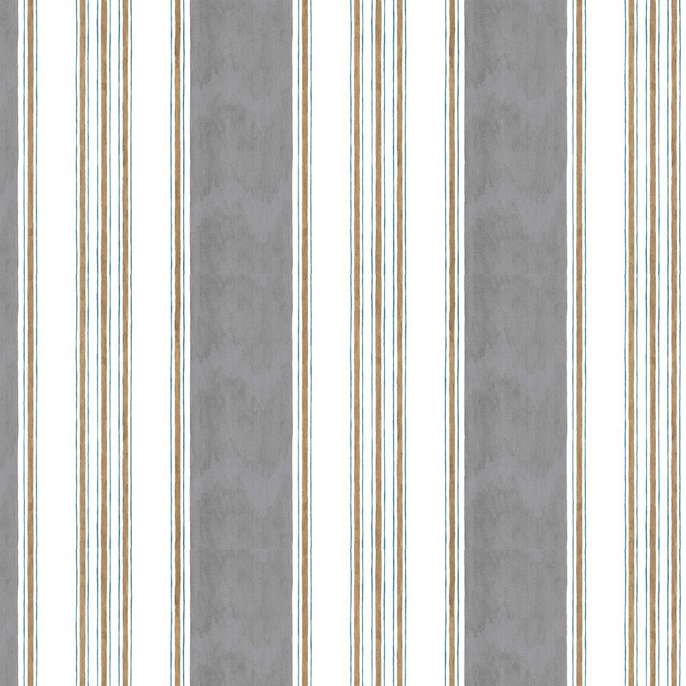 Raya Wallpaper - Grey - by Coordonne