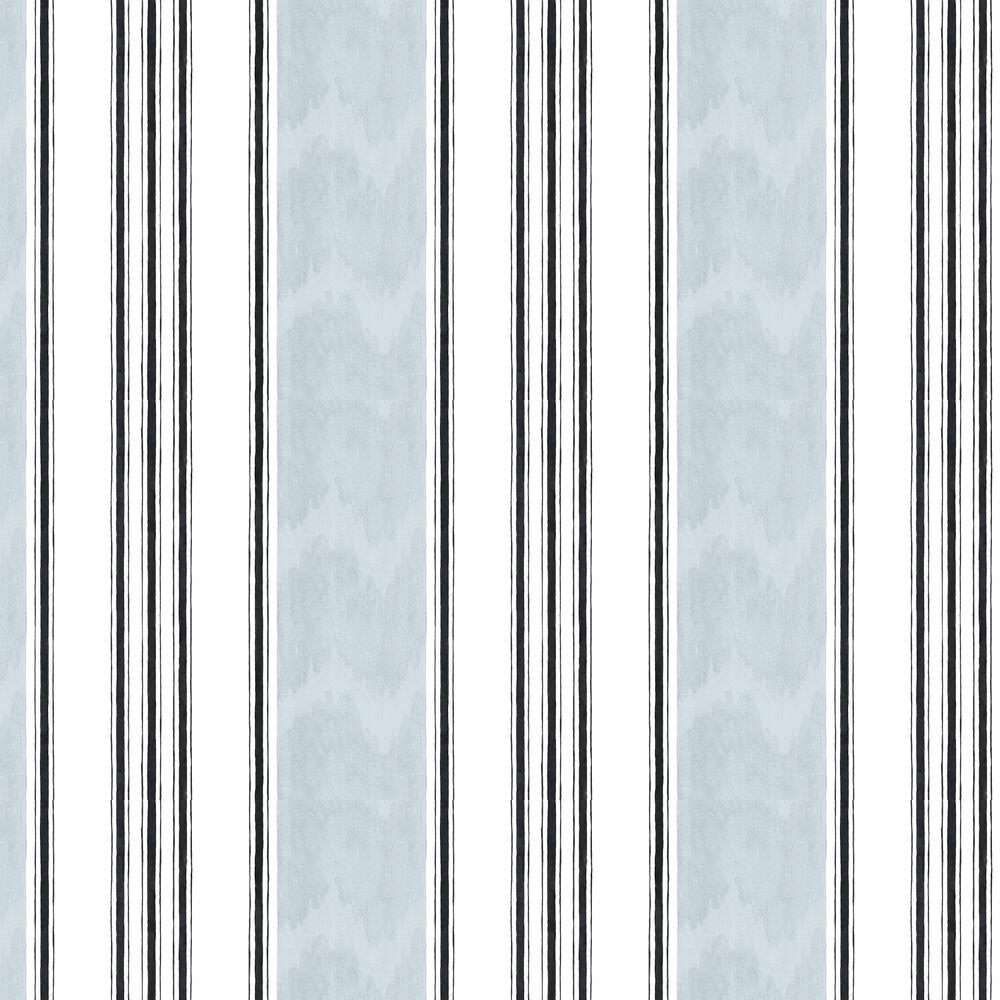 Raya Wallpaper - Duck Egg Blue - by Coordonne