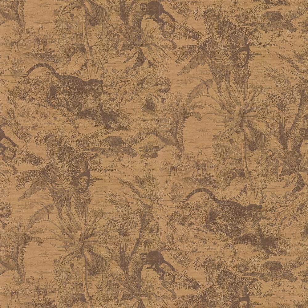Salvator  Wallpaper - Tan - by Manuel Canovas