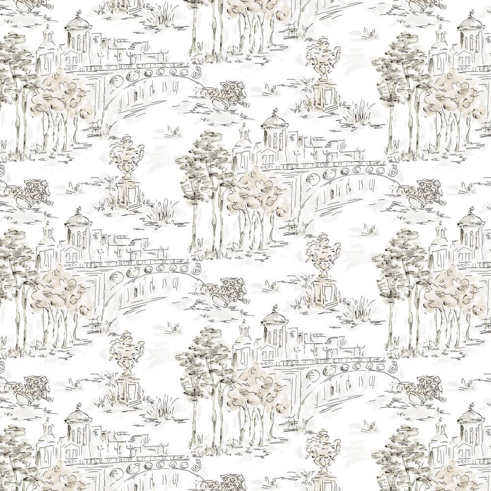 Paisaje Wallpaper - Gold - by Coordonne