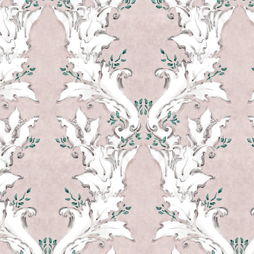 Ornamental Wallpaper - Nude - by Coordonne