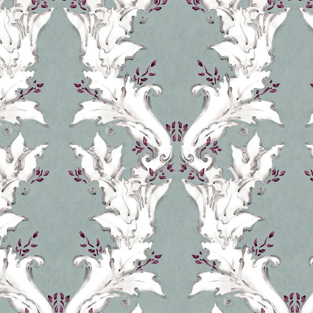 Ornamental Wallpaper - Algae - by Coordonne