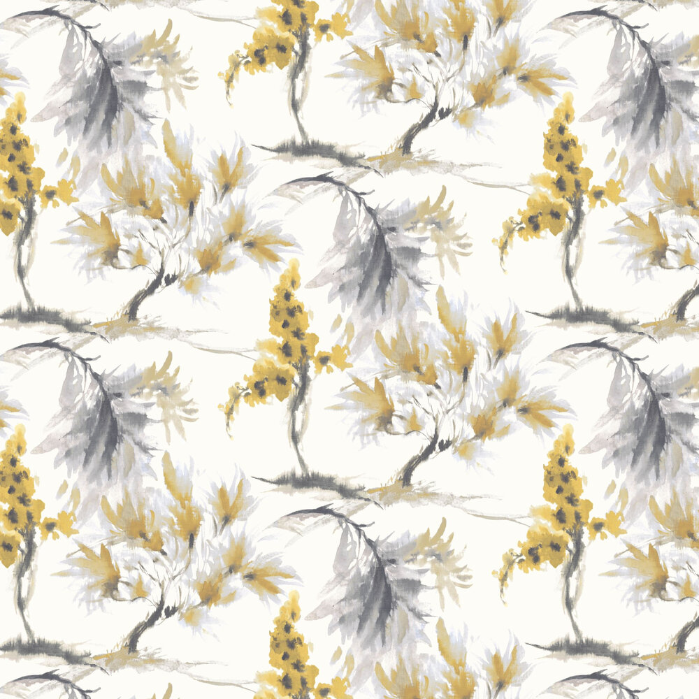1838 Wallcoverings Mimosa Ochre Wallpaper - Product code: 1905-124-05