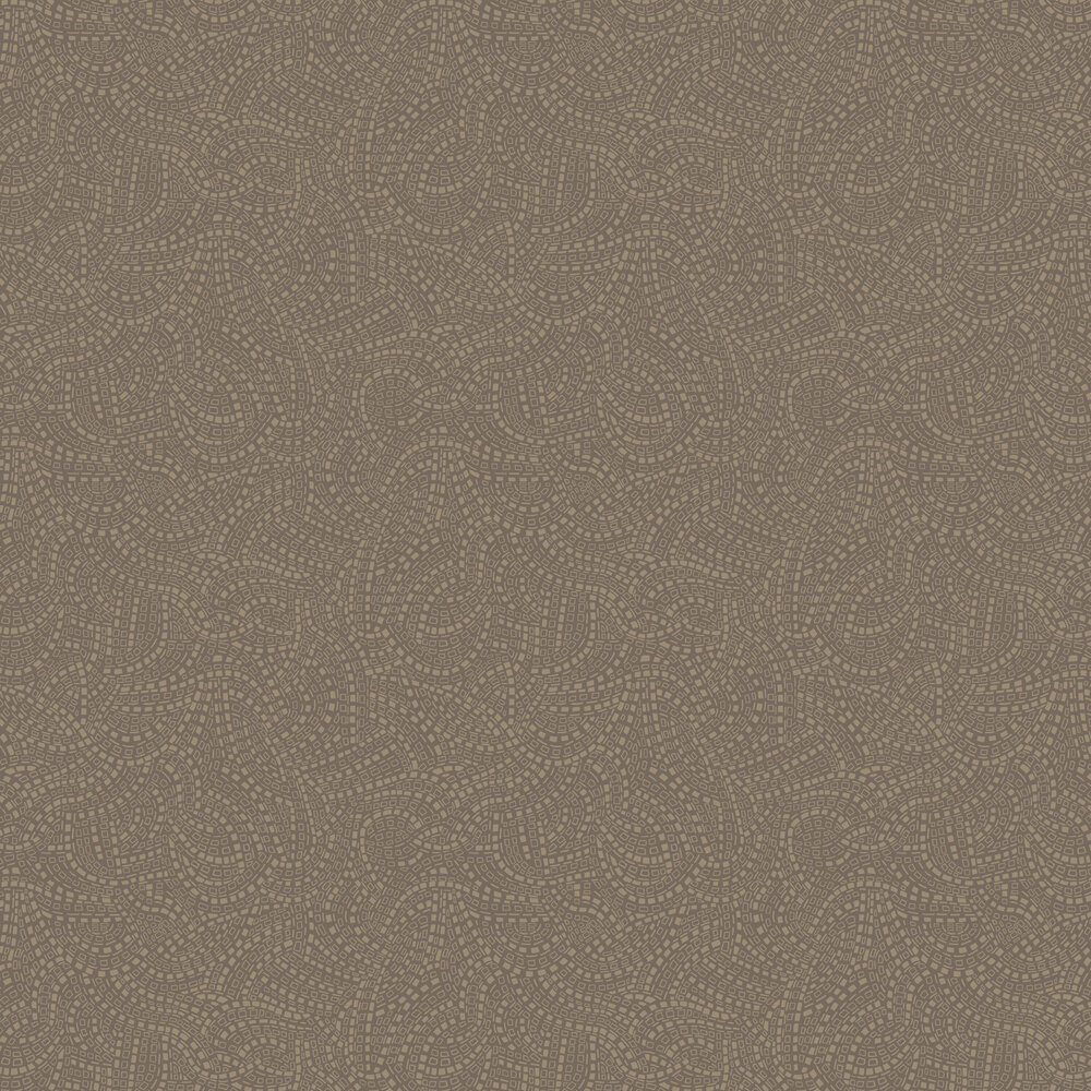 1838 Wallcoverings Mosaic Burnished Wallpaper - Product code: 1905-127-03