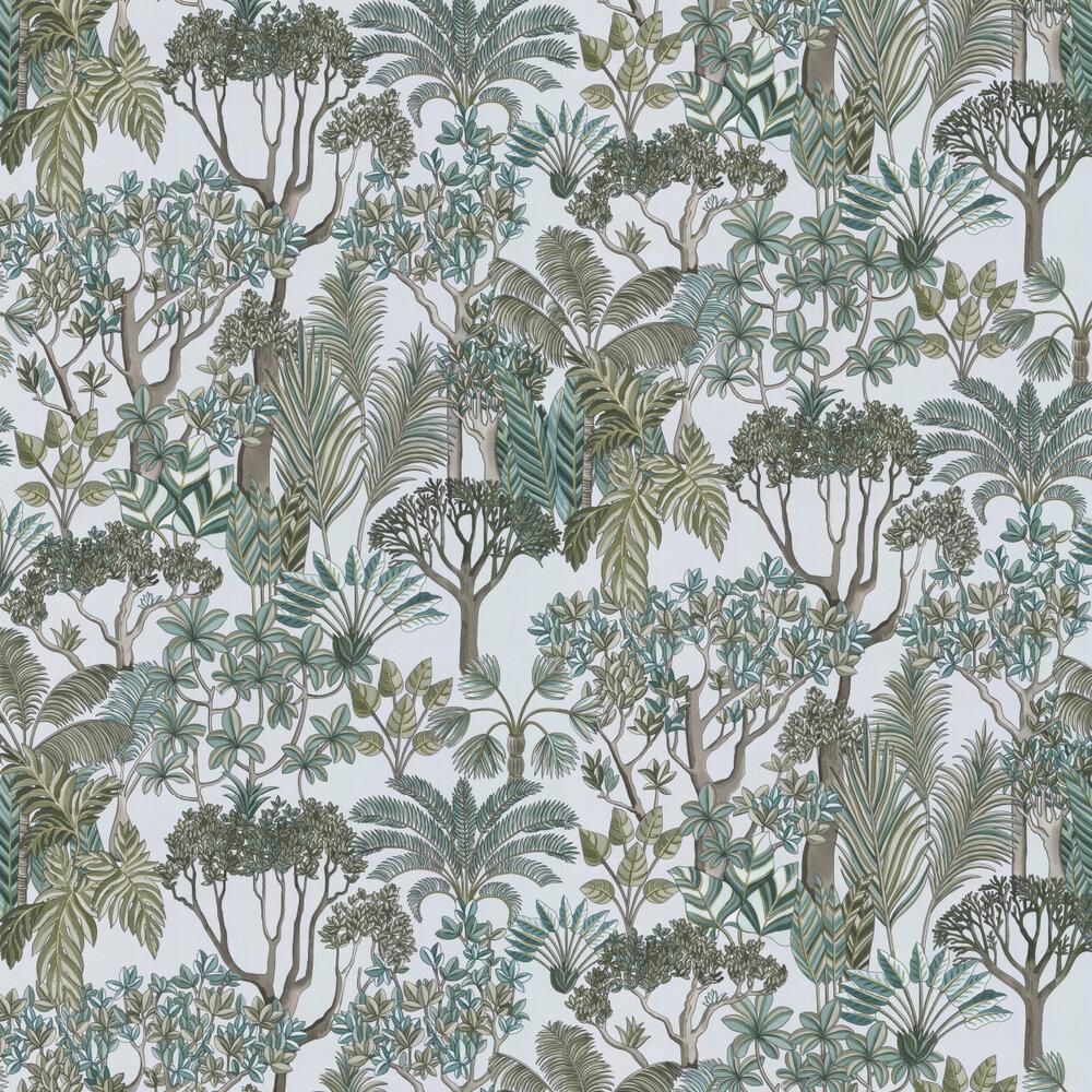 Manuel Canovas Morny Grey-Green Wallpaper - Product code: 03094-02