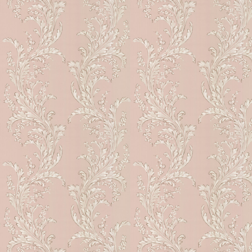 Manuel Canovas Volanges Old Rose Wallpaper - Product code: 03099-04