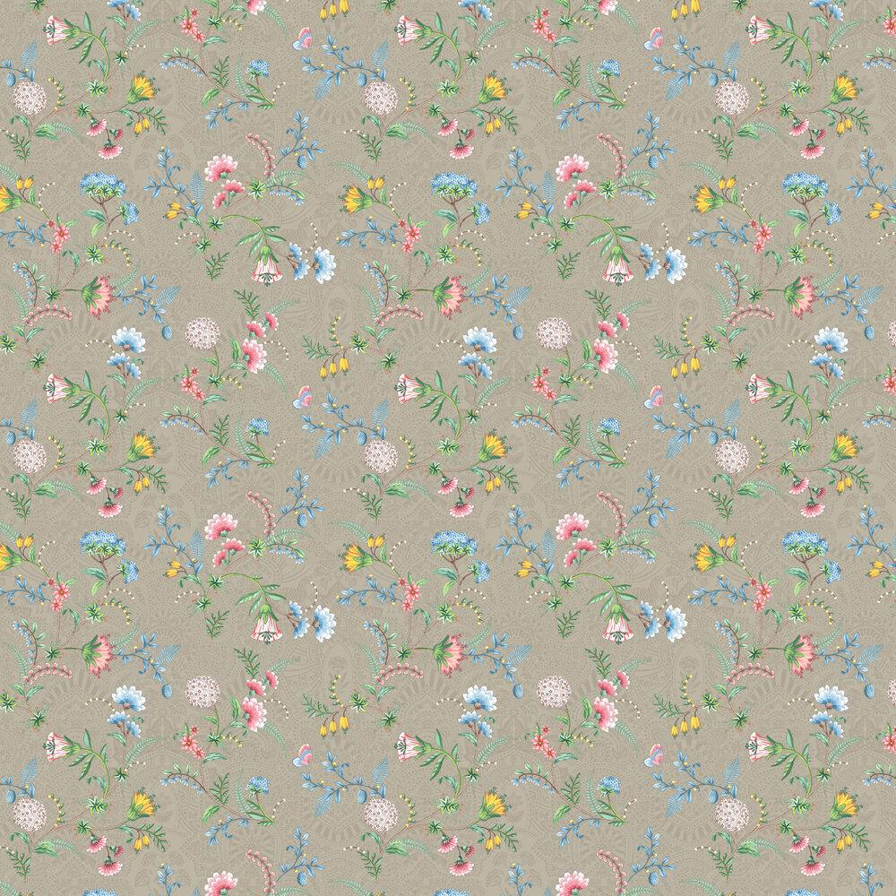 Eijffinger La Majorelle Khaki Wallpaper - Product code: 300121