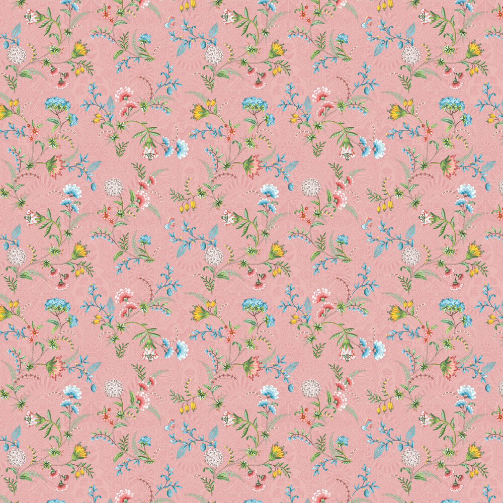 Eijffinger La Majorelle Pink Wallpaper - Product code: 300122