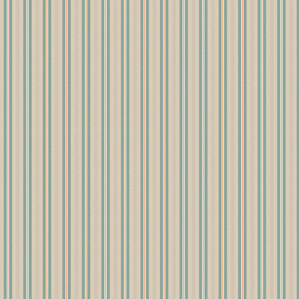 Blurred Lines Wallpaper - Beige/ Blue - by Eijffinger