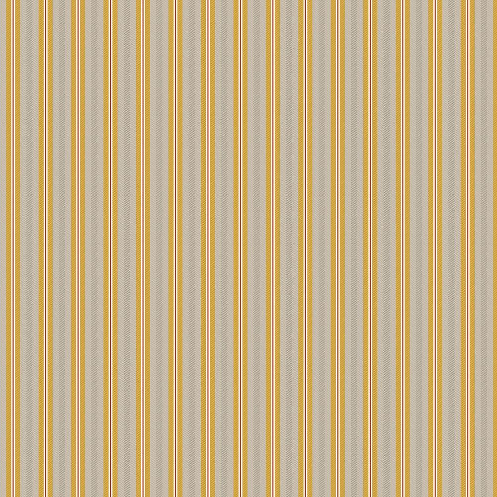 Blurred Lines Wallpaper - Ochre/ Grey - by Eijffinger