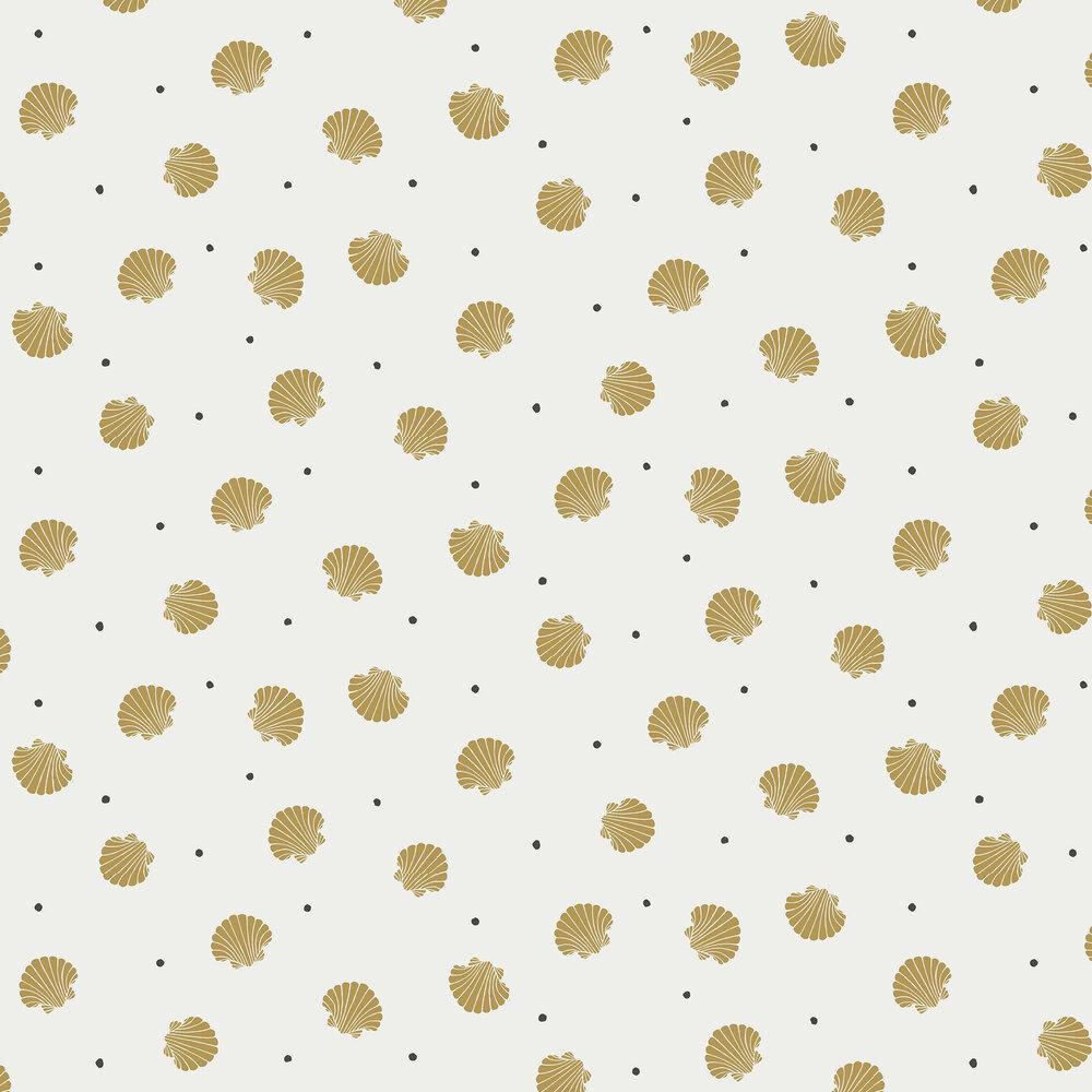 Rio Wallpaper - Mustard - by Sandberg