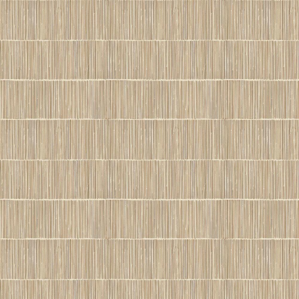 Linear Wallpaper - Straw - by Eijffinger