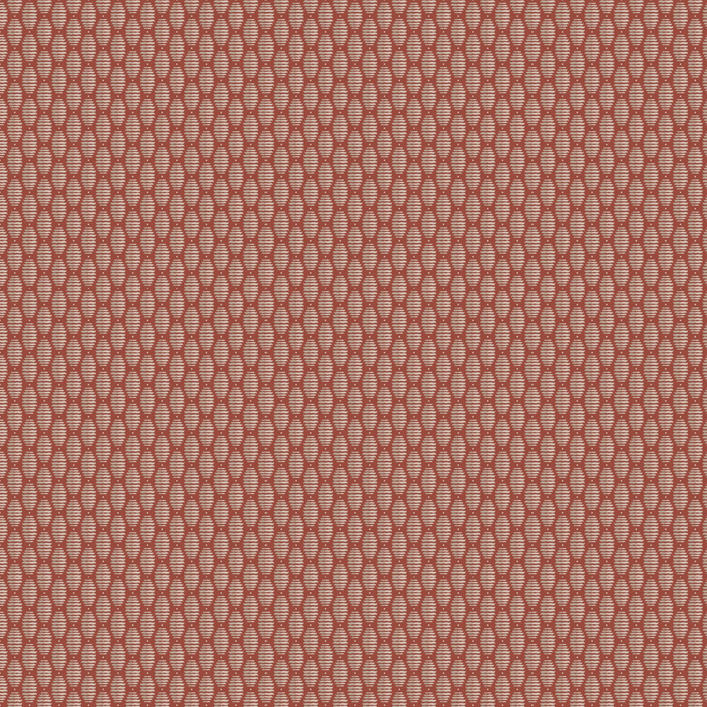 Pinyol Wallpaper - Red - by Tres Tintas
