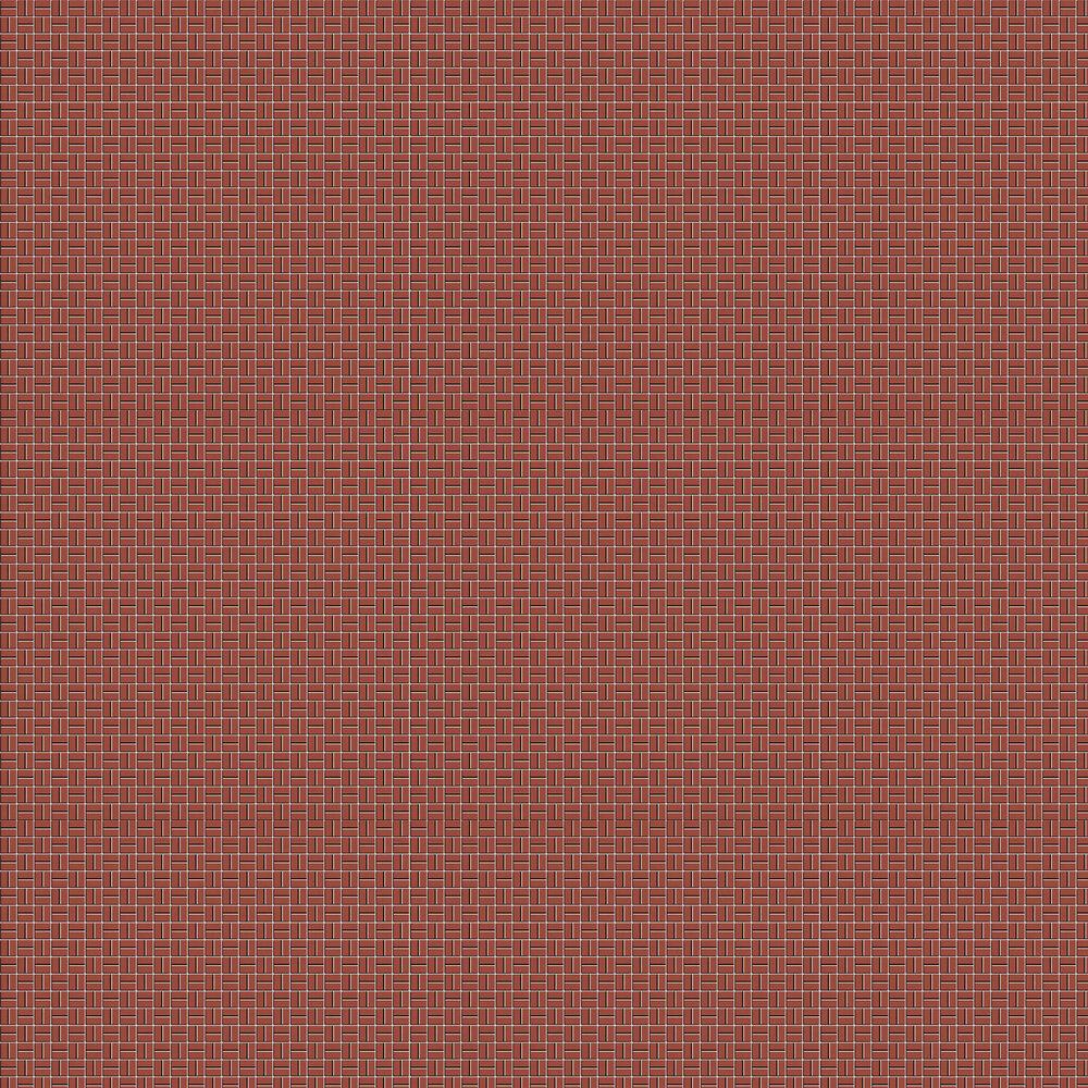 Llosa Wallpaper - Red - by Tres Tintas