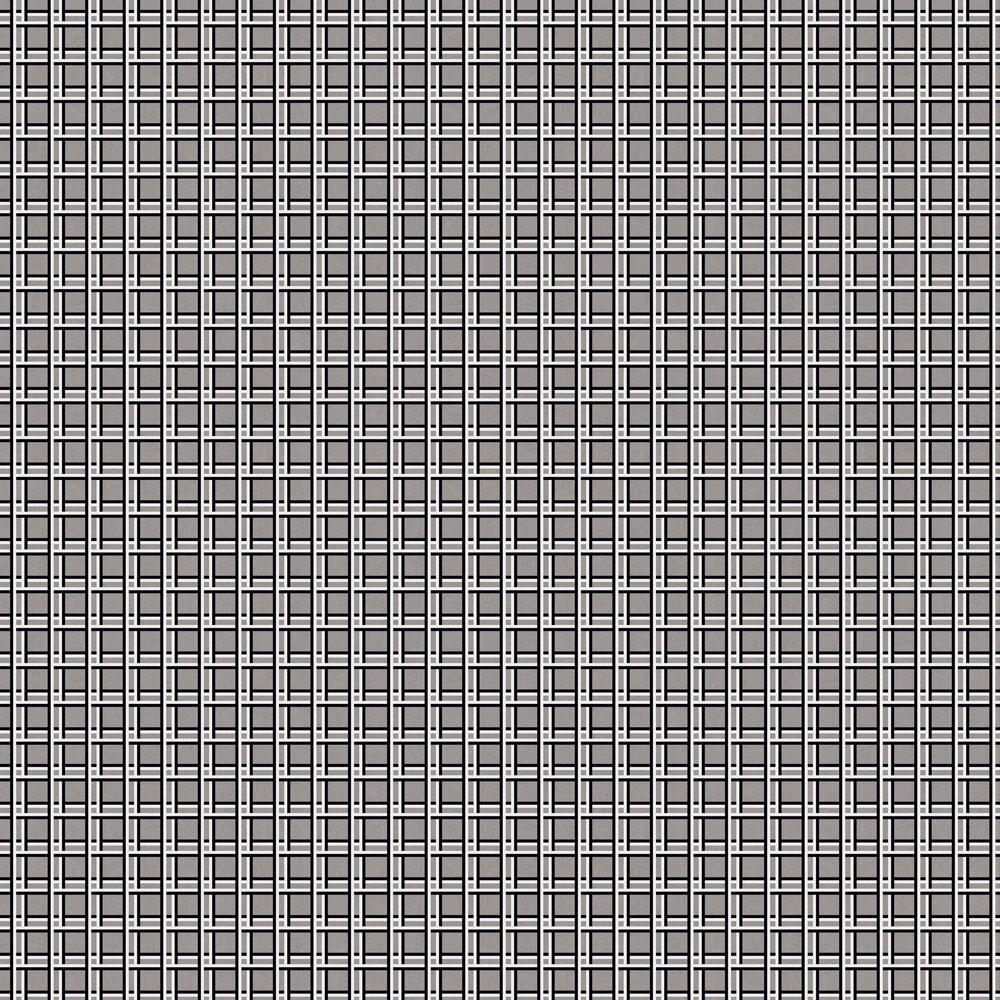 Nus Wallpaper - Grey - by Tres Tintas
