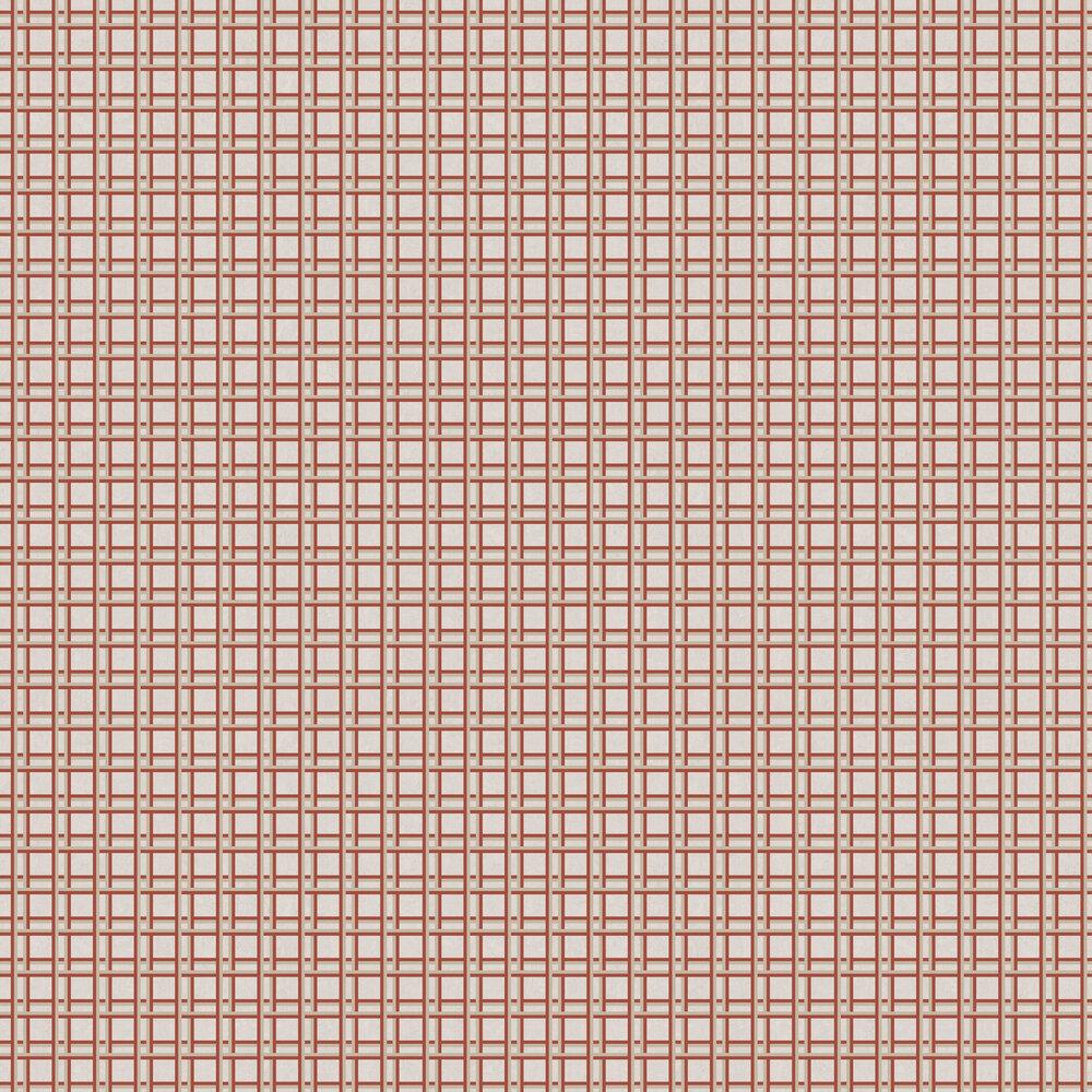 Nus Wallpaper - Red - by Tres Tintas