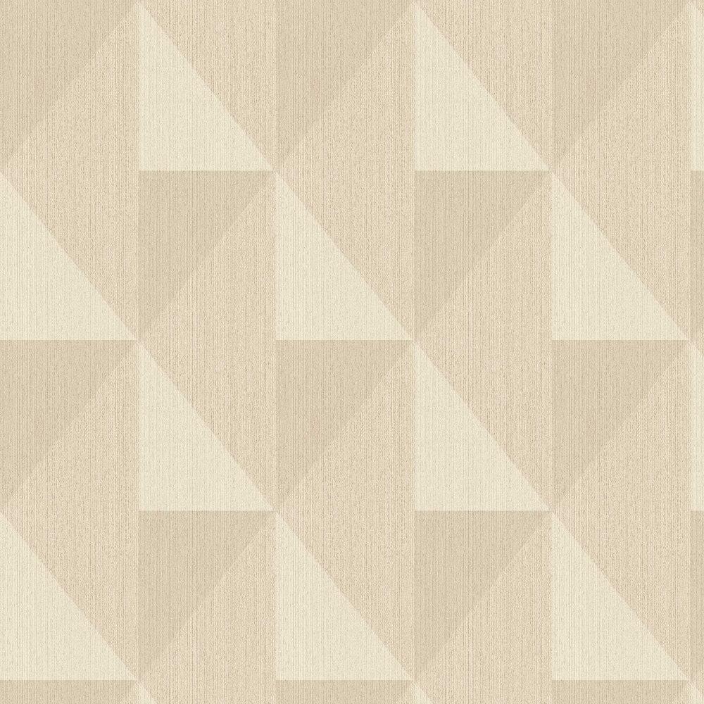 Bold Diamond Wallpaper - Beige - by Eijffinger