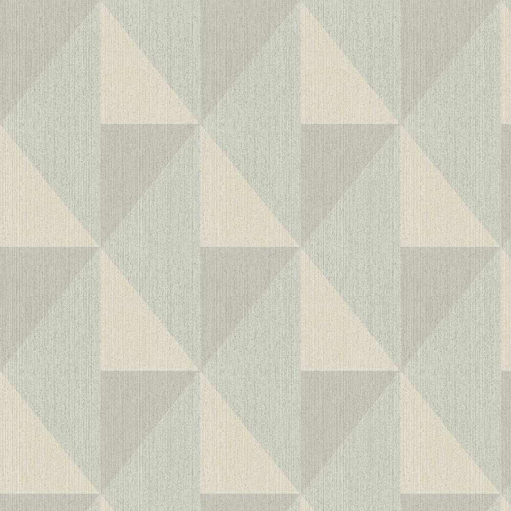 Bold Diamond Wallpaper - Green - by Eijffinger
