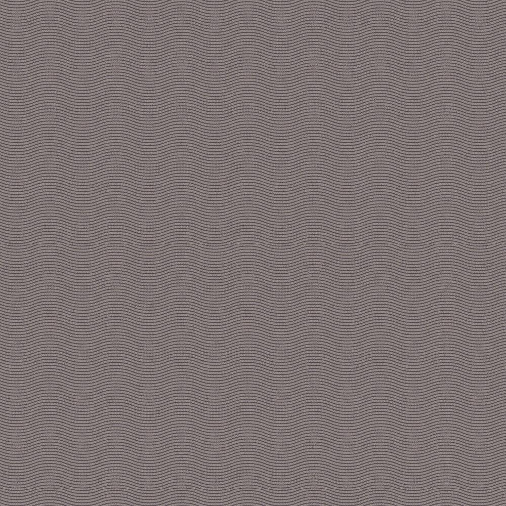 Bold Wave Wallpaper - Brown - by Eijffinger