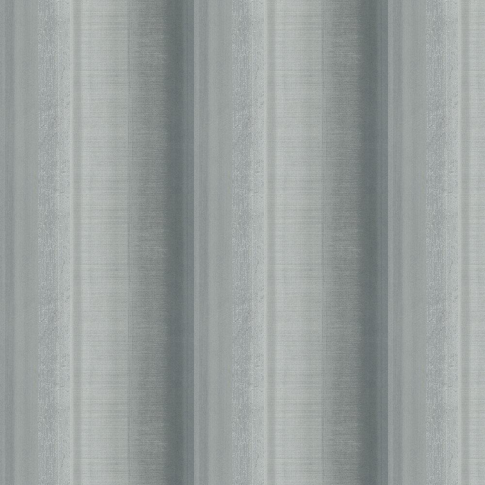 Tall Stripe Wallpaper - Grey - by Galerie