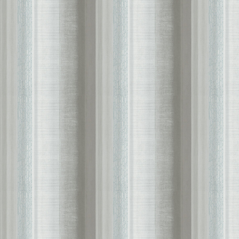 Tall Stripe Wallpaper - Silver - by Galerie