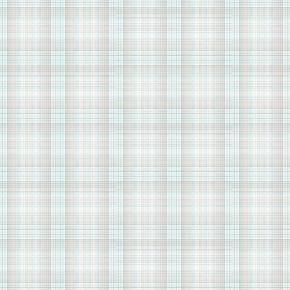 Check Plaid Wallpaper - Ivory - by Galerie